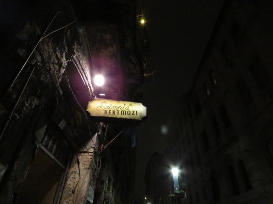 Unique nightlife of Hungar