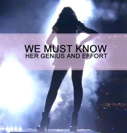 1 People do not know about her